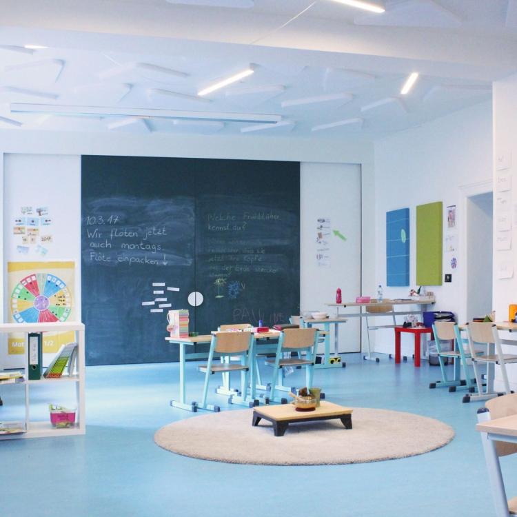 Klassenraum Grundschule
