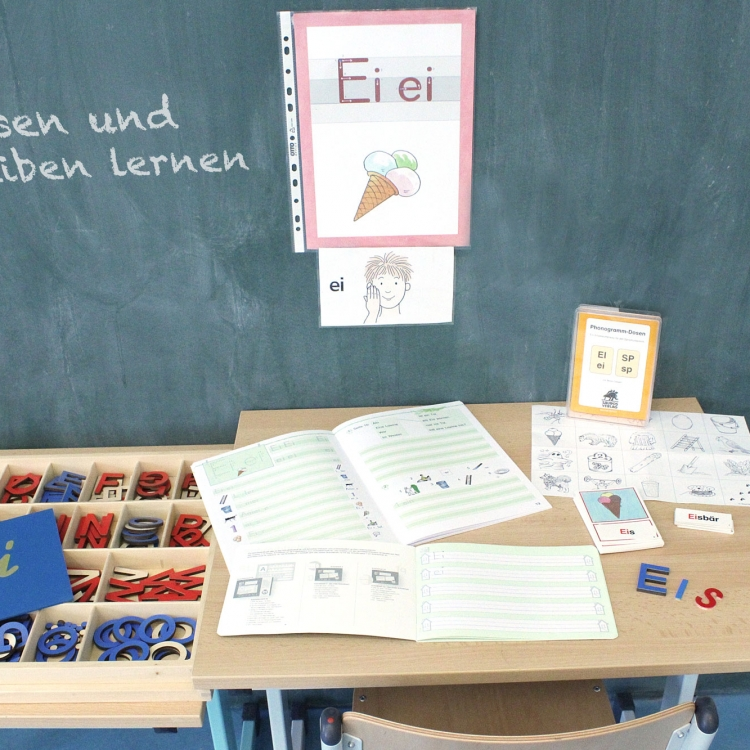 Vielfältige Unterrichtsmaterialien zum Lesen und Schreiben üben